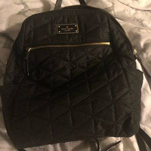 Kate Spade Quilted Backpack Purse